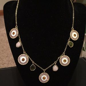 NWT Betsy Johnson Rhinestone and Pearl Necklace ❤️